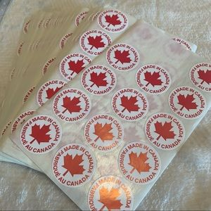 Free w/ Purchase❗️Made in Canada Stickers 🇨🇦